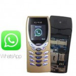 G17 N8250 WhatsApp Color Screen Dual Sim Mobile Phone
